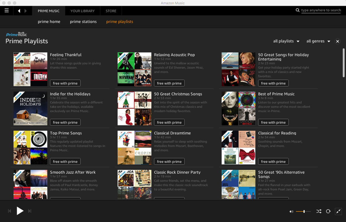 Amazon Music and Amazon Prime Canada